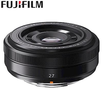 FUJIFILM XF 27mm F2.8 定焦鏡 黑色 (平行輸入)