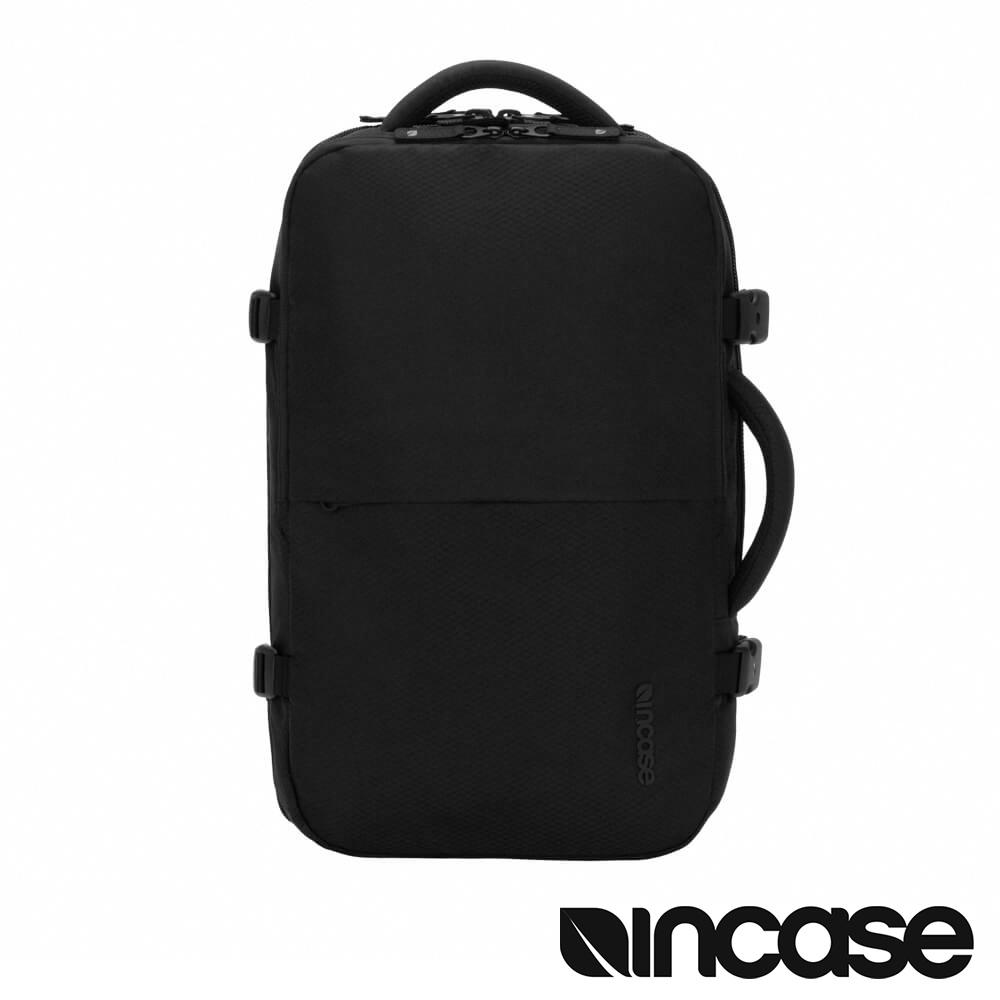 Incase EO Travel 17 吋旅行電腦後背包(格紋耐磨) - 晶鑽黑