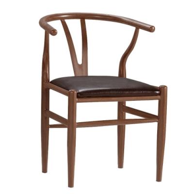 MUNA 戴爾餐椅(皮)(五金腳)(1入) 53.5X57X73cm