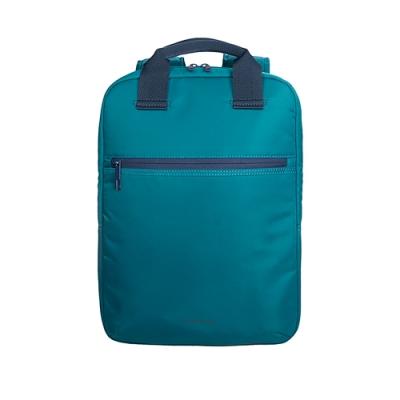 TUCANO LUX 輕量型跳色休閒後背包14吋-藍