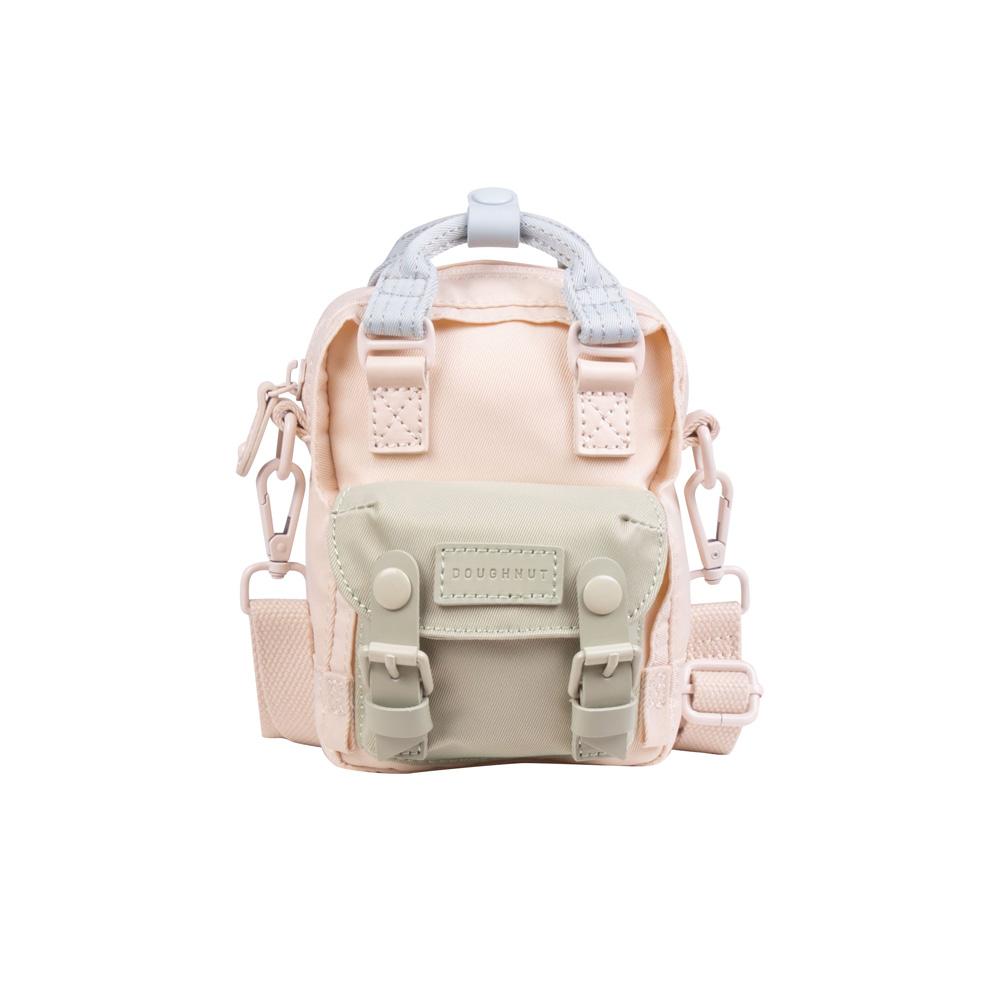 【IBAOBAO愛包包】Doughnut 馬卡龍Tiny側背包-煙霞地衣