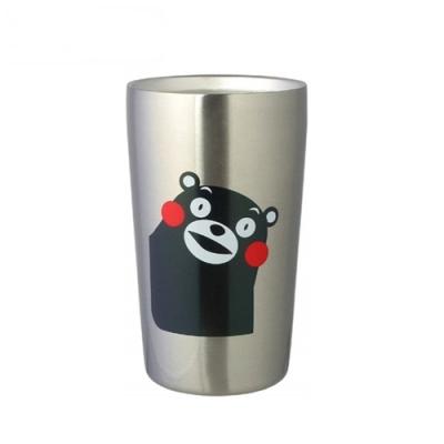 日本KUMAMON熊本熊真空保溫杯(420ml)K20193真空斷熱構造(正版日本平行輸入)