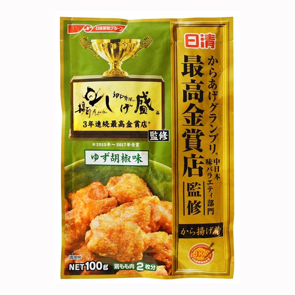 日清  金賞炸雞粉-柚子胡椒(100g)