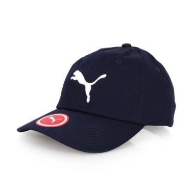 PUMA 基本系列棒球帽帽子 遮陽 防曬 鴨舌帽 05291903 丈青白