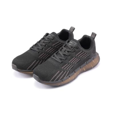 COMBAT艾樂跑男鞋-針織運動鞋-黑灰(22575)