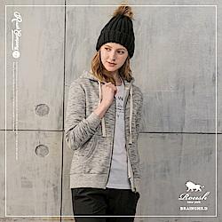 ROUSH 女生雲霧厚棉刷毛連帽外套 (3色)