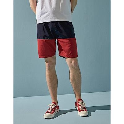 CACO-拼色海灘短褲(兩色)-男【SAR066】