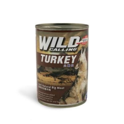 奧地利WILD GALLING犬罐-火雞肉 415g/14.65oz (45-WD-03)