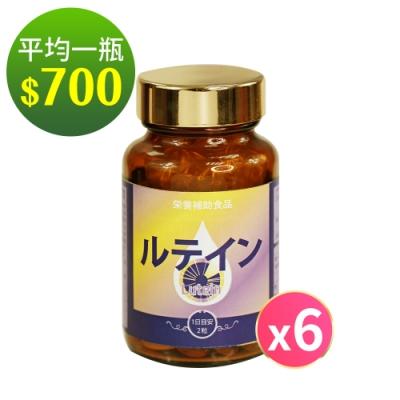 健康食妍 金盞葉黃素6入組