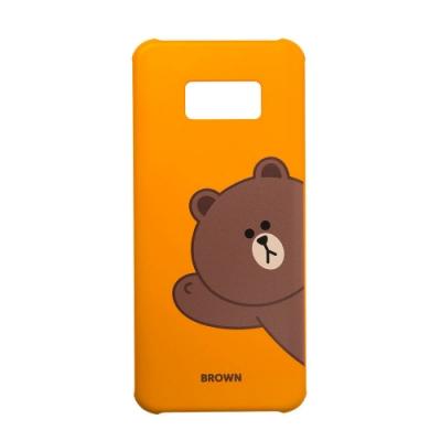 SAMSUNG Galaxy S8 LINE FRIENDS原廠手機殼-熊大(台灣公司貨)