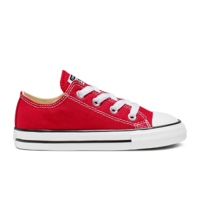 CONVERSE All Star 小童 休閒鞋 紅 7J236C