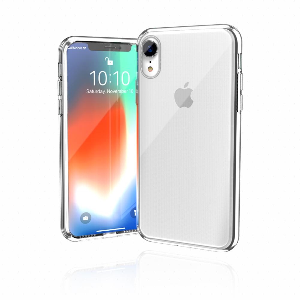 JTLEGEND iPhone XR 6.1 晶透無痕保護殼