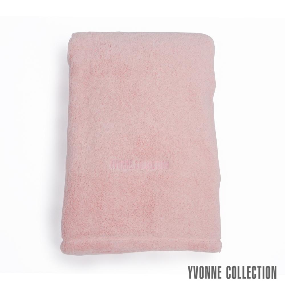 Yvonne Collection 棉柔大浴巾-千禧粉