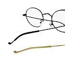 細邊框 金屬框眼鏡 鏡腳柔軟一字固定防滑套 眼鏡腳套 保護套(三對6入)