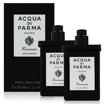 Acqua Di Parma 克羅尼亞黑調古龍水 隨身噴霧補充瓶30ml x2入