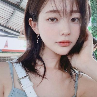梨花HaNA 韓國925銀晶鑽U型絕美枝葉耳環