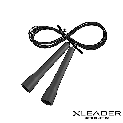 Leader X 專業競速 可調節訓練跳繩 顏色隨機