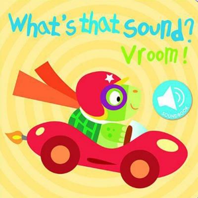 What s That Sound? Vroom! 交通工具篇硬頁音效書