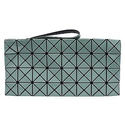 ISSEY MIYAKE 三宅一生 BAOBAO Prism幾何方格8x4手拿包(粉綠)