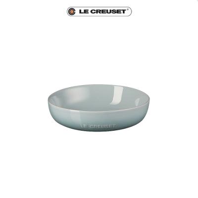 [任4件6折] LE CREUSET 瓷器花蕾系列深盤18cm-海洋之花