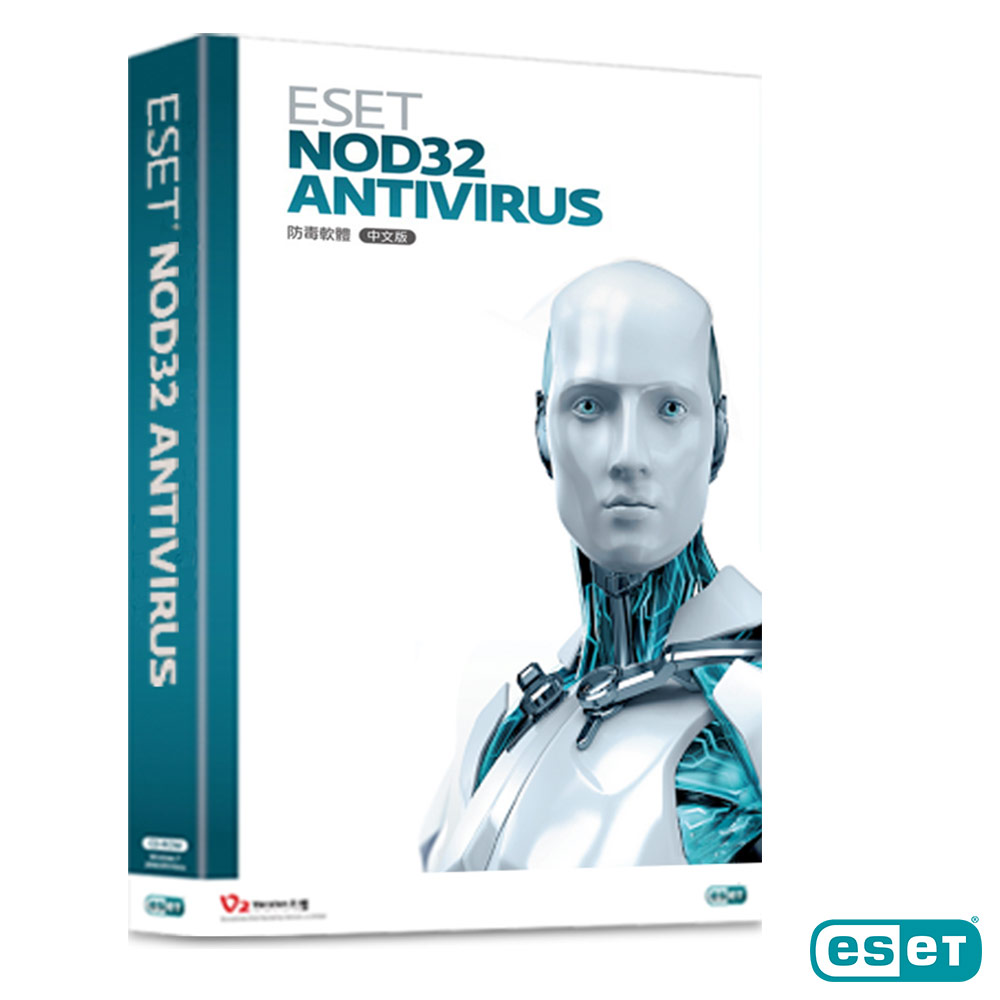 ESET NOD32 防毒軟體(PC/MAC)3年3台盒裝版