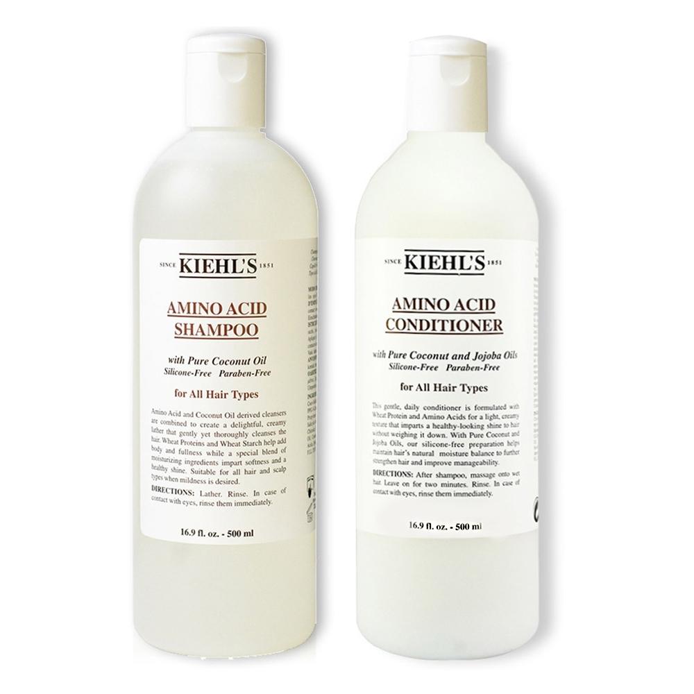 KIEHLS契爾氏 氨基酸洗髮精500ml+氨基酸潤髮乳500ml