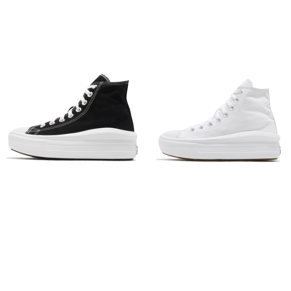 Converse 休閒鞋 Chuck Taylor All Star Move 男女鞋 厚底 高筒 兩色單一價 568497C 568498C