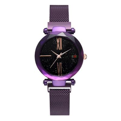 (時時樂限定)抖音潮款 星空米蘭帶磁吸扣手錶 (4色任選)
