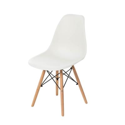 樂嫚妮 5入北歐復刻餐椅/椅子/休閒椅/辦公椅-白