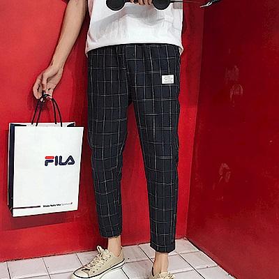 BuyGlasses 日式職人小布標九分工作褲