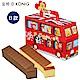 金格 英國巴士長崎蛋糕B款-蜂蜜+巧克力(2入/盒) product thumbnail 1