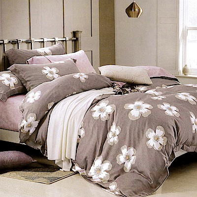 Lily Royal 百分百純天絲涼被床包四件組 雙人 西蕾