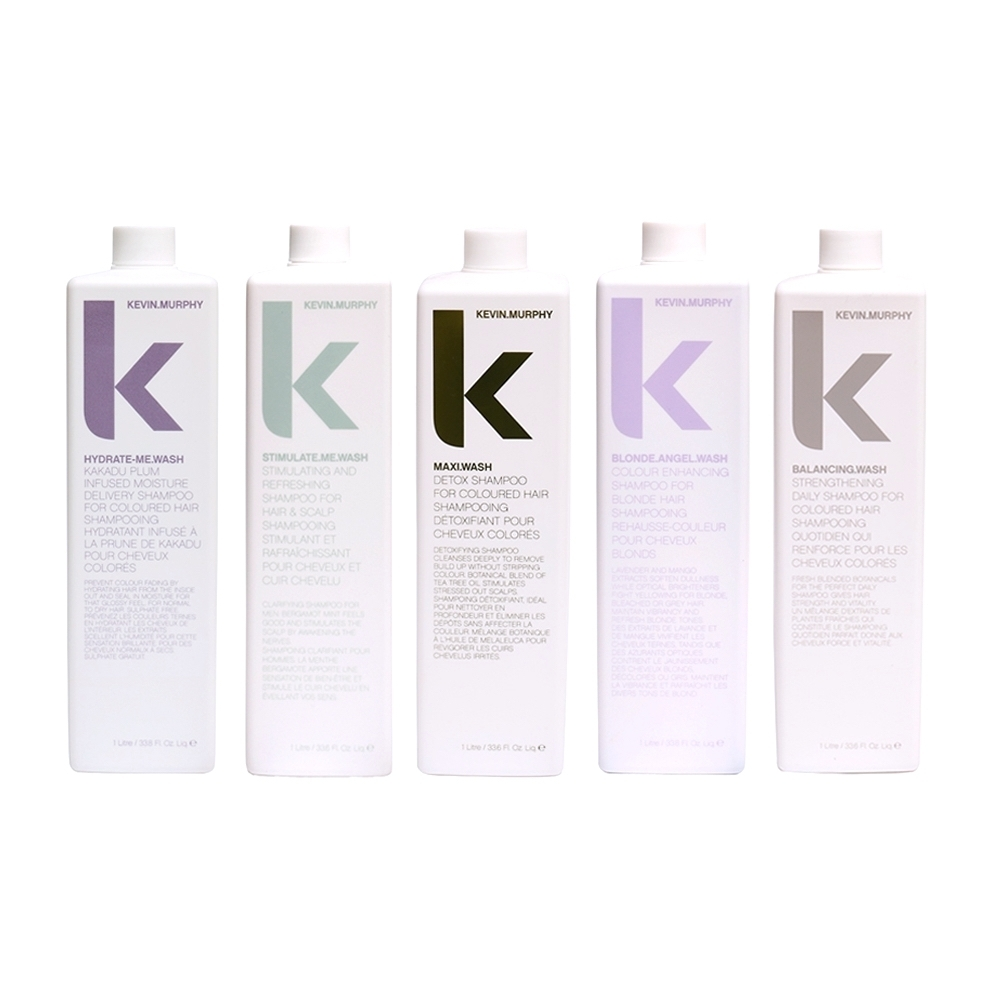 KEVIN.MURPHY 髮浴系列 1000ml 極限深層 彩虹天使 天降甘霖 極樂髮浴 平衡髮浴