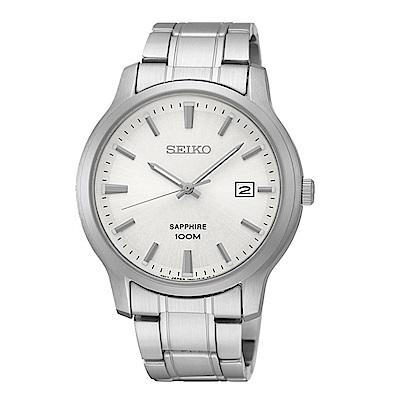 SEIKO 精工型男必備藍寶石玻璃腕錶/7N42-0GE0S/SGEH39P
