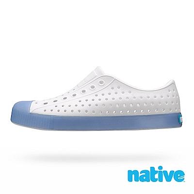 native JEFFERSON CLEAR 男/女鞋-冰塊藍