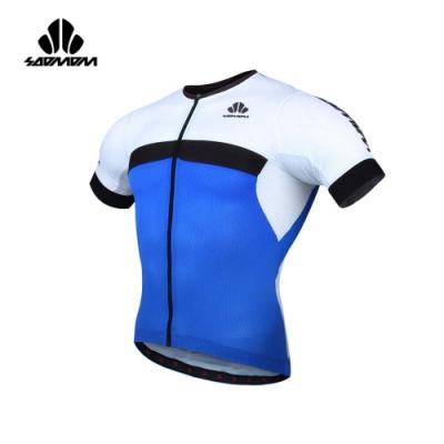 SOOMOM 男雷尼短車衣-自行車 速盟 藍黑白
