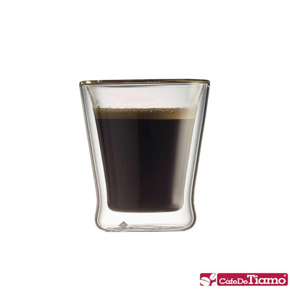 Tiamo DC-XL-1601 雙層玻璃杯 100cc / 6入(HG2051)