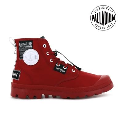 PALLADIUM PAMPA LITE OVERLAB輕量標籤軍靴-中性-紅