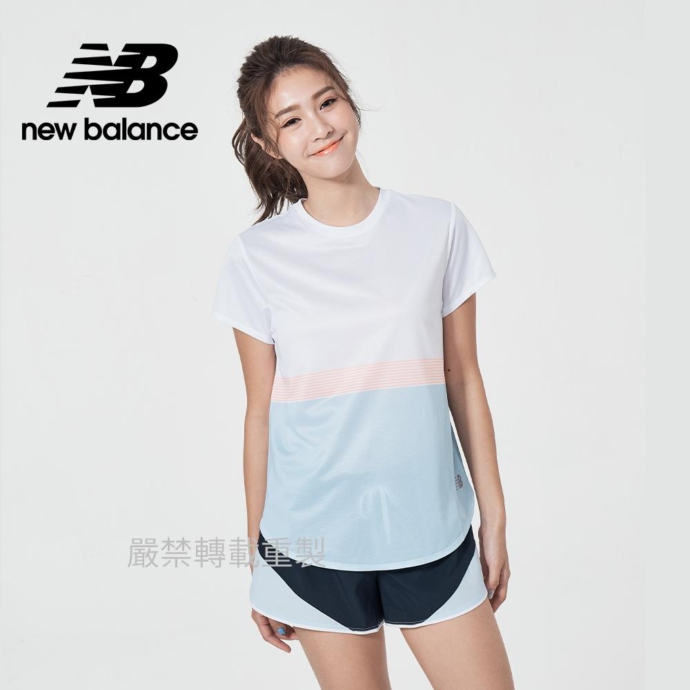 【New Balance】Dry短袖T_女性_白色_AWT11221WT