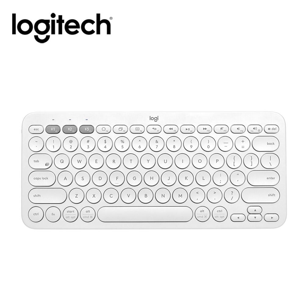 羅技 K380多工藍芽鍵盤(粉白藍三色選) product image 1
