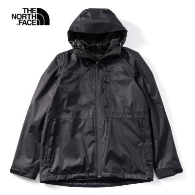 The North Face 男 三合一防水透氣保暖外套 黑 NF0A4NCLJK3