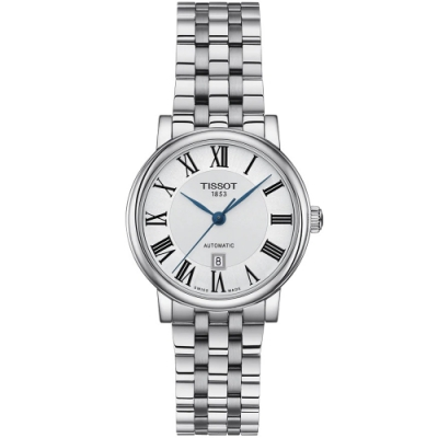 TISSOT天梭 CARSON 經典機械手錶(T1222071103300)-30mm