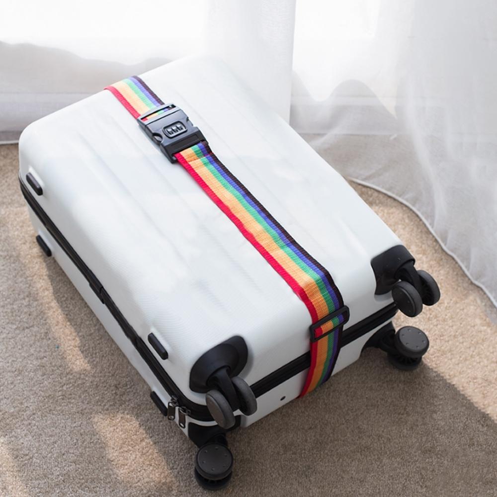 【Cap】加厚密碼行李箱束帶