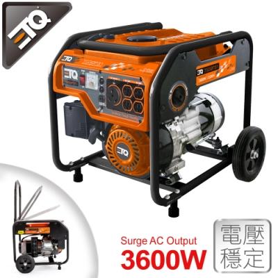 【ETQ USA】3600W拉桿式汽油發電機