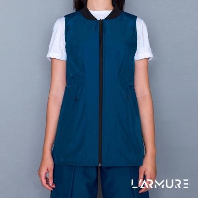 L ARMURE 女裝 Ultra-Light 修身 背心洋裝 湛藍色