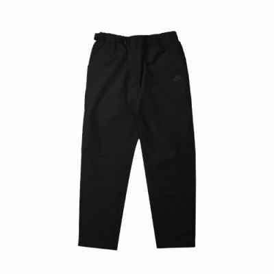 Nike 長褲 NSW Woven Trousers 男款 休閒  直筒褲 可調式腰帶 風褲 簡約 穿搭 黑 CZ9884010