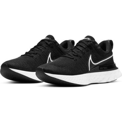 NIKE 慢跑鞋 運動鞋 訓練 健身  男鞋 黑 CT2357002 REACT INFINITY RUN FK 2