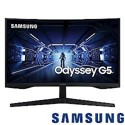 SAMSUNG C27G55TQWC 27型2K曲面電競螢幕 支援freesync