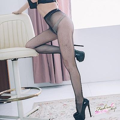 黑色網襪 台灣製透膚黑色小網性感褲襪洞洞襪 流行E線