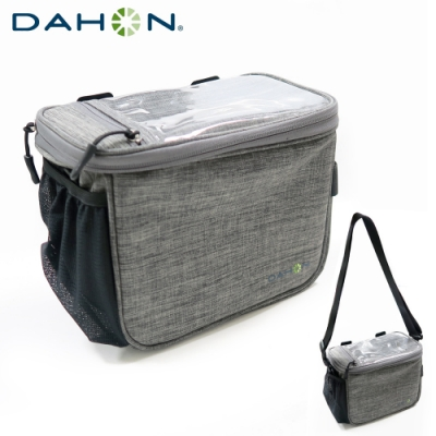 DAHON大行 Handlebar Bag車手橫管包/車前包-灰